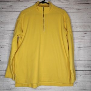 Patagonia Micro D Yellow Pullover Sweater Women's